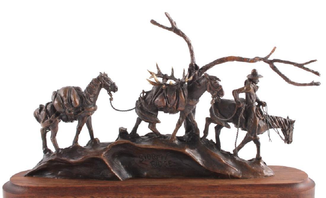 Original Harvey Rattey Bronze Sculpture - 2