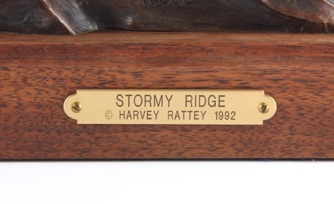 Original Harvey Rattey Bronze Sculpture - 3
