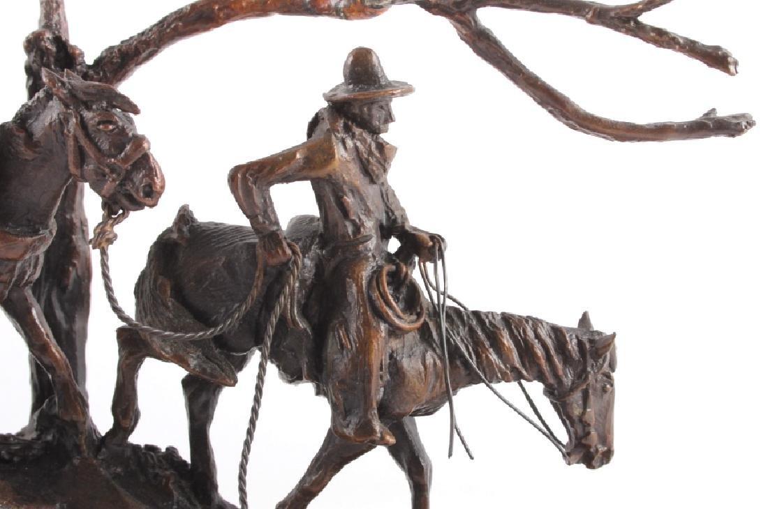 Original Harvey Rattey Bronze Sculpture - 4