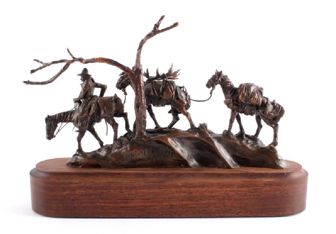 Original Harvey Rattey Bronze Sculpture - 8