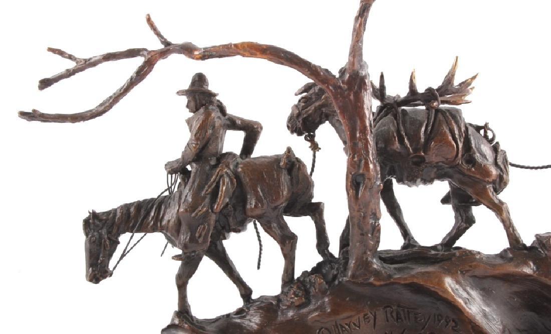 Original Harvey Rattey Bronze Sculpture - 9
