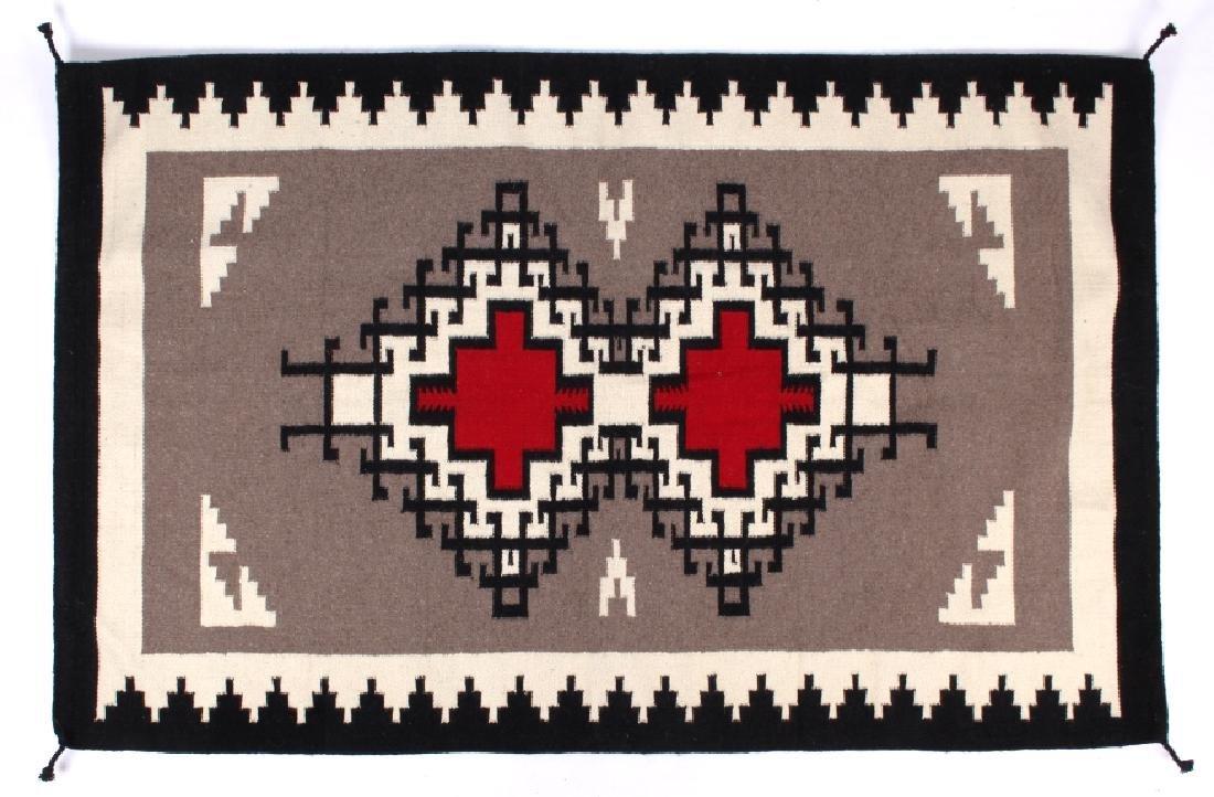 Navajo Native American Klagetoh Pattern Wool Rug