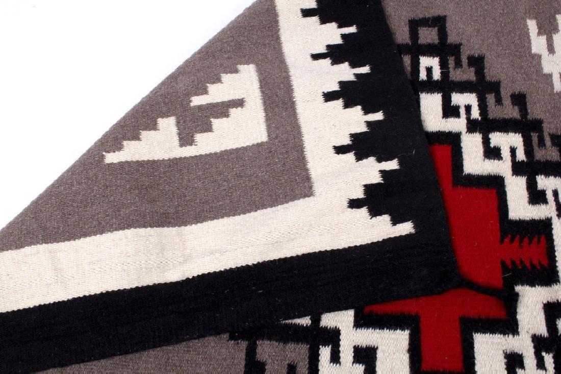 Navajo Native American Klagetoh Pattern Wool Rug - 5