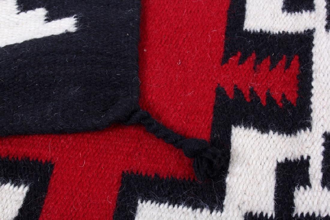 Navajo Native American Klagetoh Pattern Wool Rug - 6