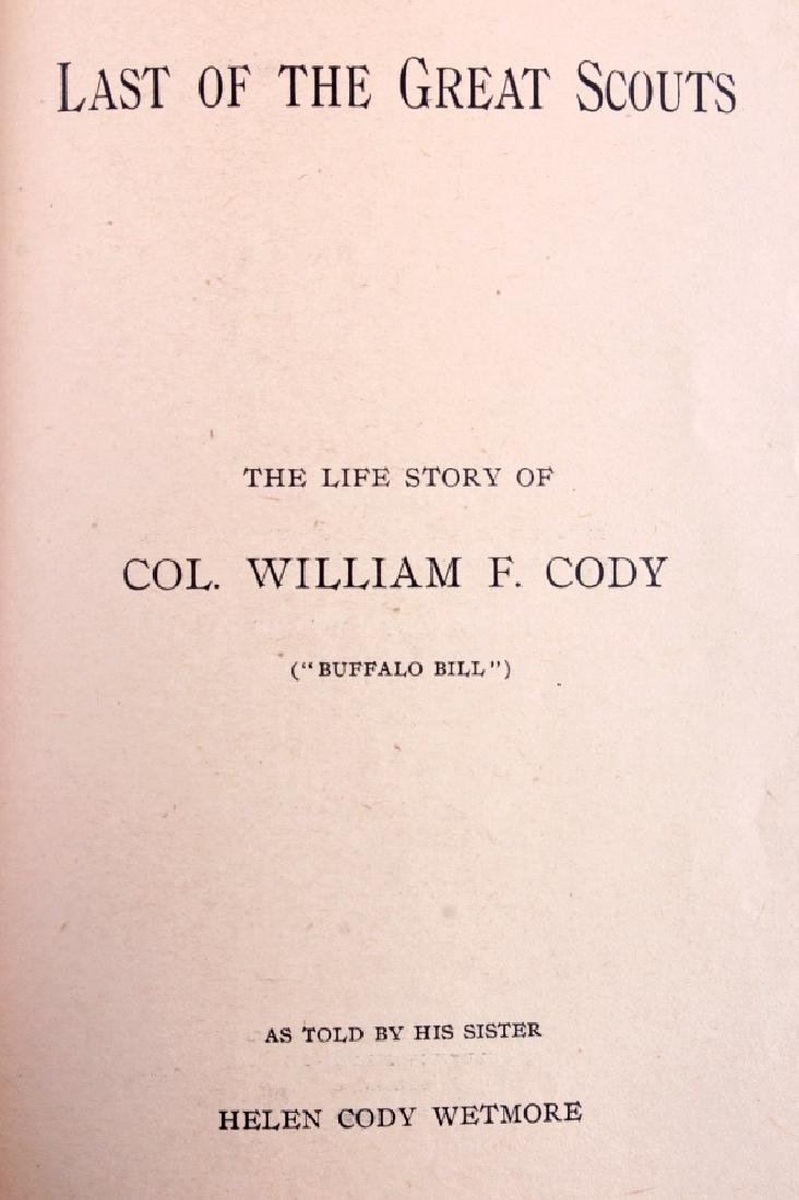 Last of the Great Scouts Buffalo Bill 1st Ed. 1899 - 3