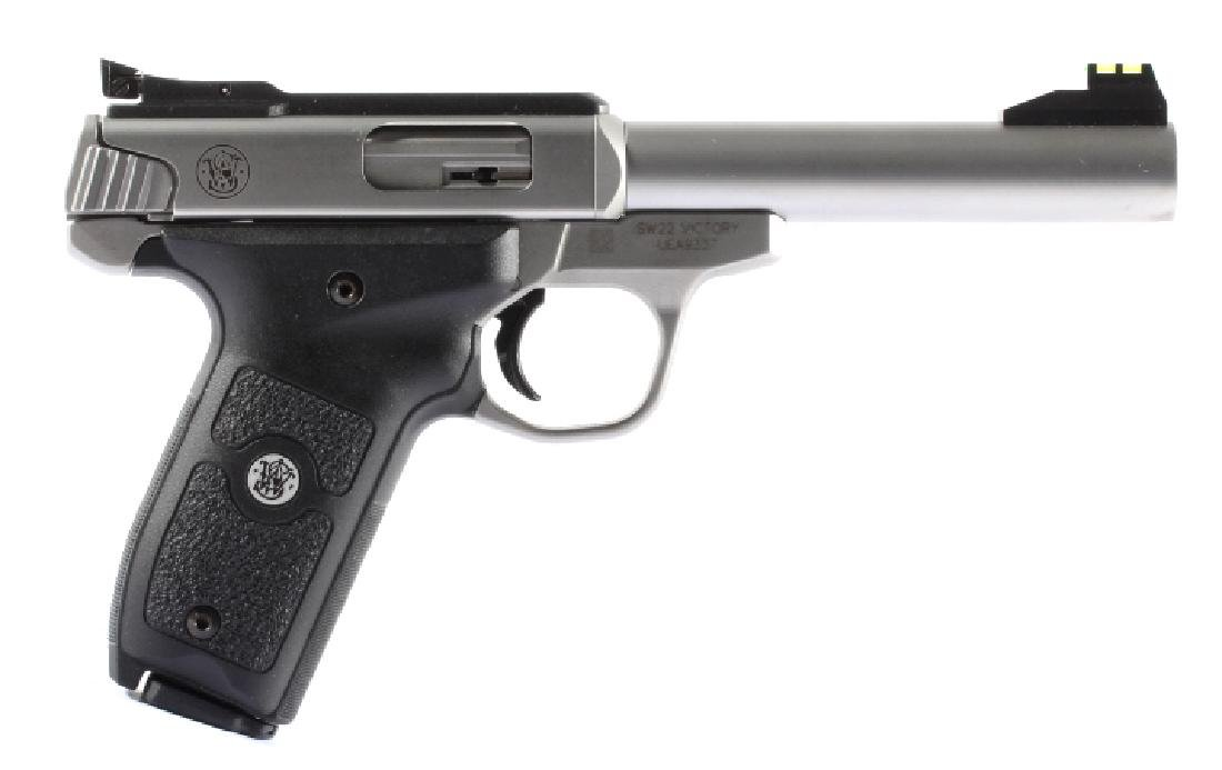 NIB Smith&Wesson SW22 Victory 22LR Target Pistol - 2