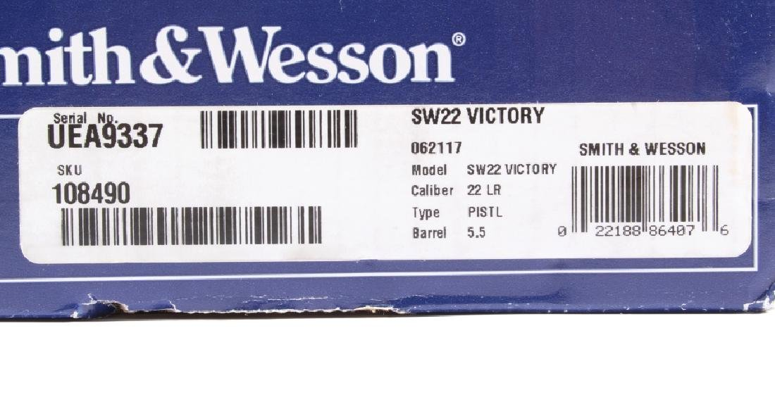 NIB Smith&Wesson SW22 Victory 22LR Target Pistol - 5