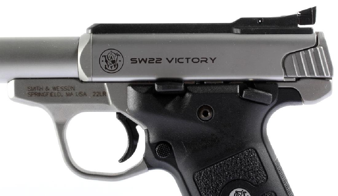 NIB Smith&Wesson SW22 Victory 22LR Target Pistol - 6