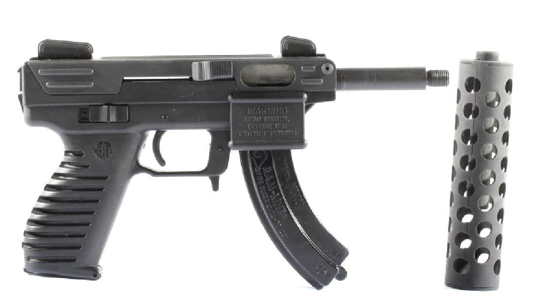 Intratec Tec-22 .22 Long Rifle Semi-Auto Pistol - 2