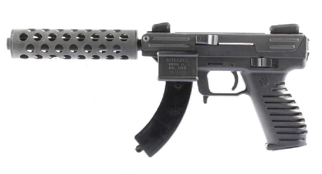 Intratec Tec-22 .22 Long Rifle Semi-Auto Pistol - 3