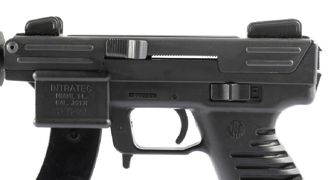Intratec Tec-22 .22 Long Rifle Semi-Auto Pistol - 4