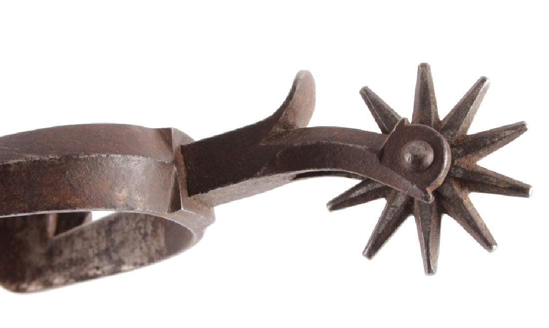 Antique Buermann Star Marked Spurs - 4
