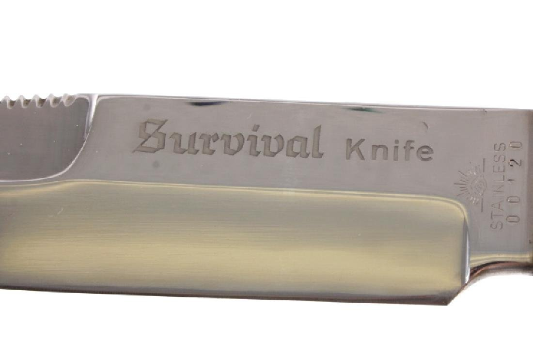 Carl Schlieper Survival Knife and Scabbard - 4