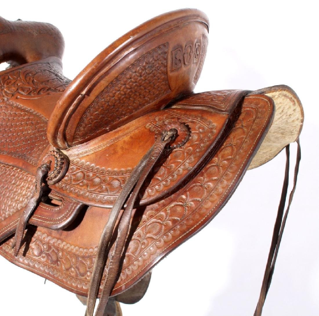 Jack Connolly Livingston, MT Custom Saddle c.1929- - 7