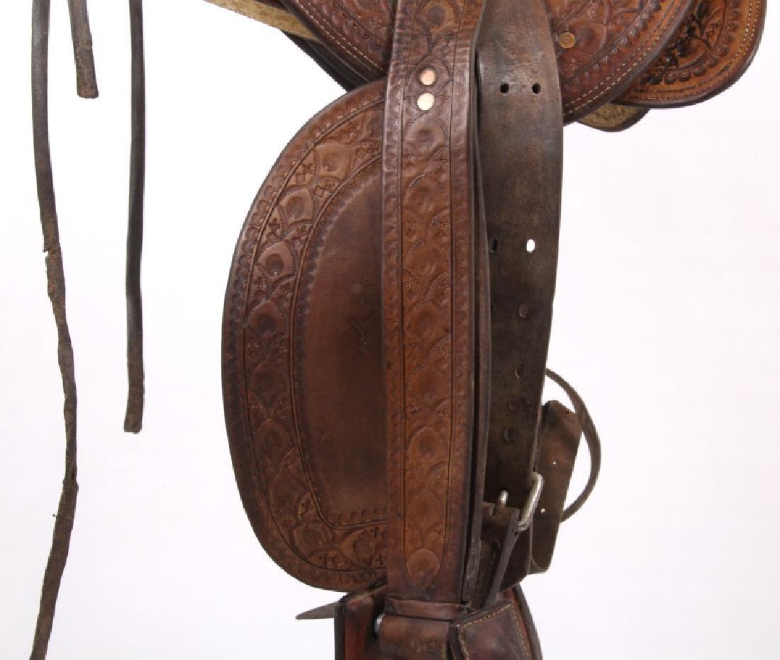 Jack Connolly Livingston, MT Custom Saddle c.1929- - 4
