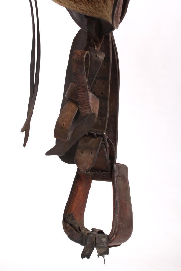 Jack Connolly Livingston, MT Custom Saddle c.1929- - 6