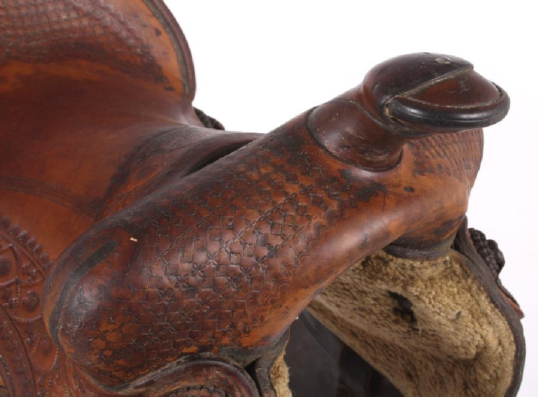 Jack Connolly Livingston, MT Custom Saddle c.1929- - 7