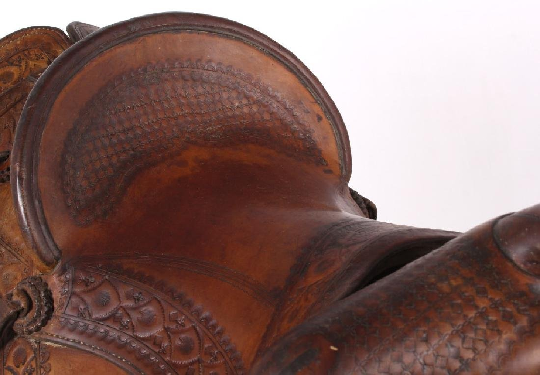 Jack Connolly Livingston, MT Custom Saddle c.1929- - 8