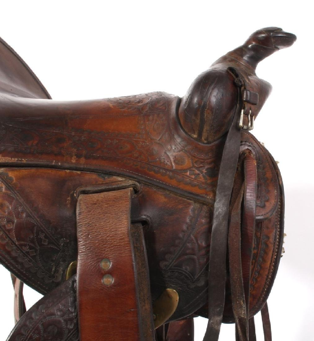 Jack Connolly Livingston, MT Custom Saddle c.1929- - 4