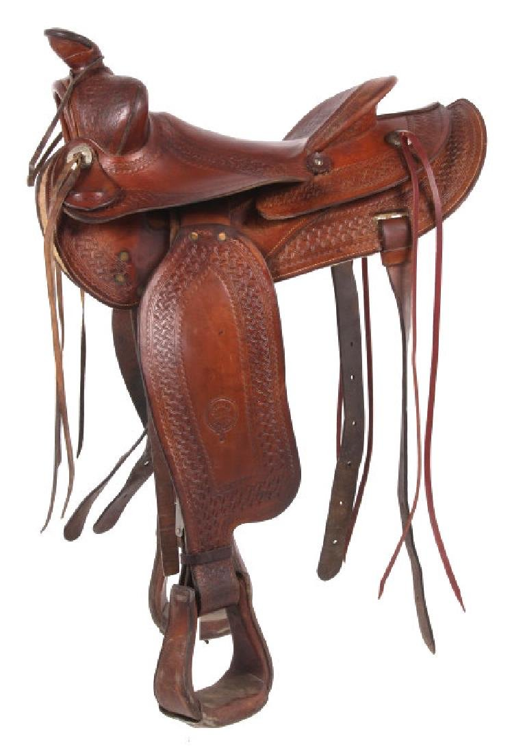 Colorado Saddlery Custom Made Western Saddle