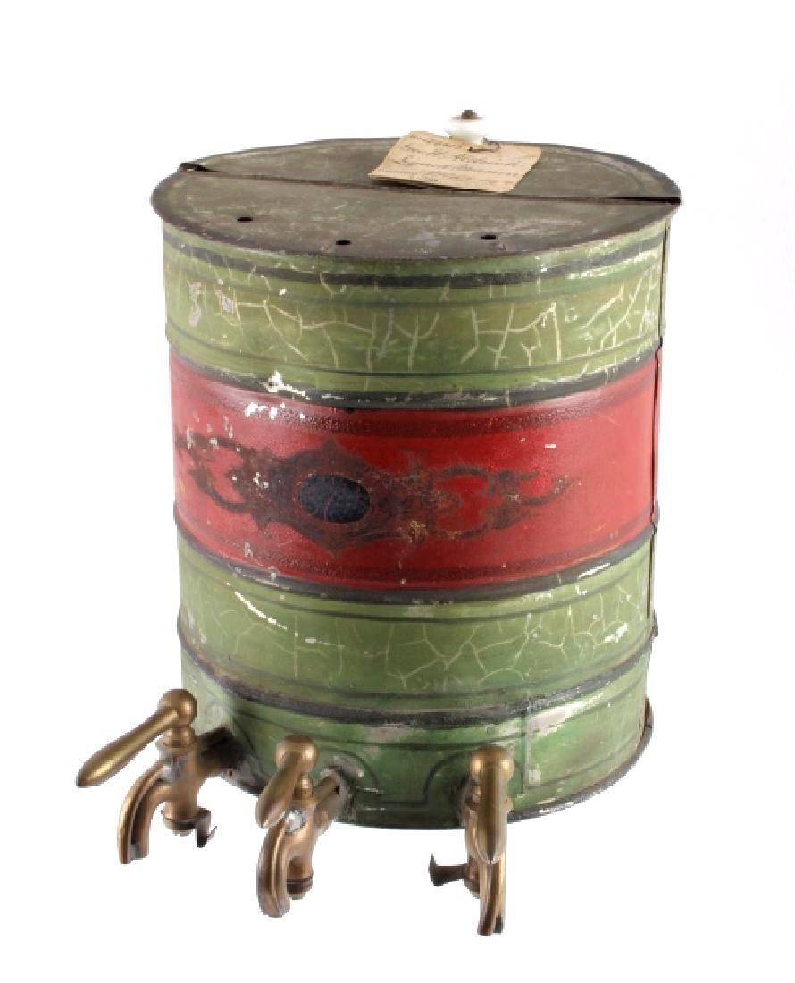 1876 Patent Model Liquid Measure Barrel