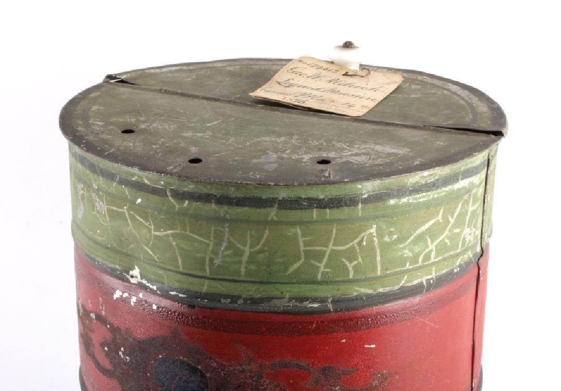 1876 Patent Model Liquid Measure Barrel - 2