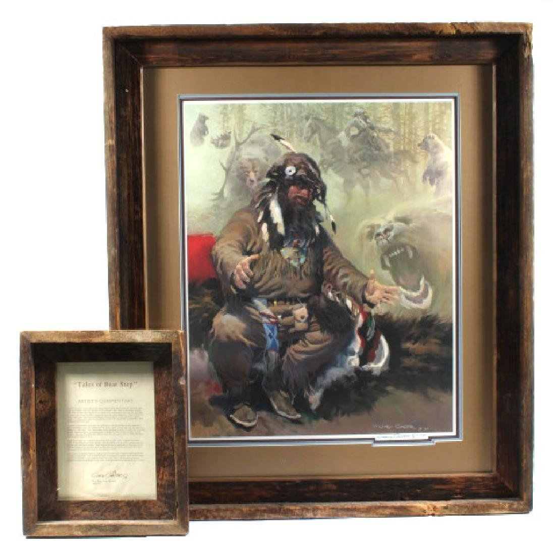 G Carter-Tales of a Bear Step Signed Print 317/850