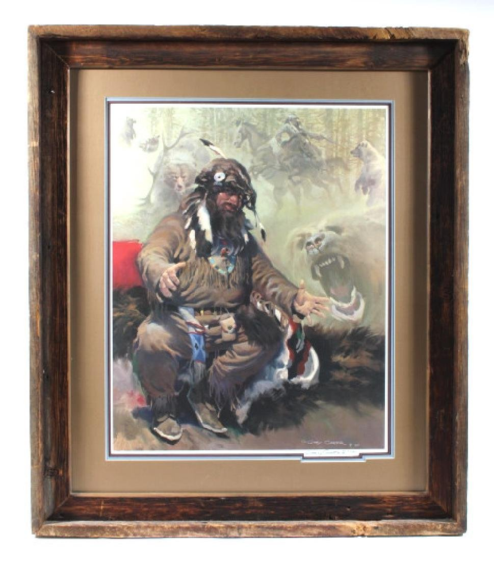 G Carter-Tales of a Bear Step Signed Print 317/850 - 2