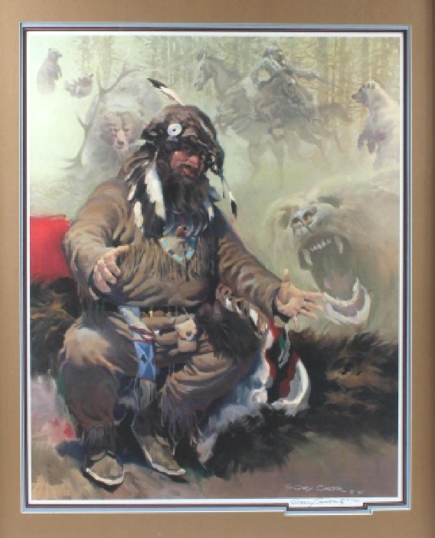 G Carter-Tales of a Bear Step Signed Print 317/850 - 5
