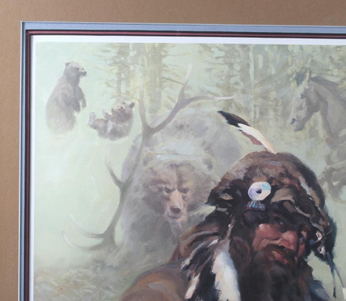 G Carter-Tales of a Bear Step Signed Print 317/850 - 7