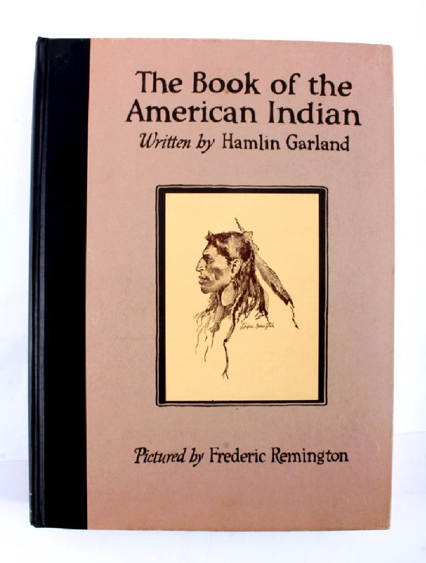 Book of the American Indian Hamlin Garland 1923 - 2