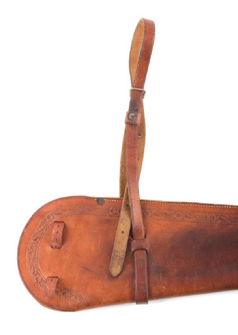 George Lawrence Tooled Leather Rifle Scabbard - 10