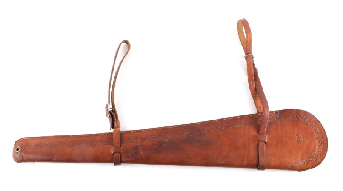 George Lawrence Tooled Leather Rifle Scabbard