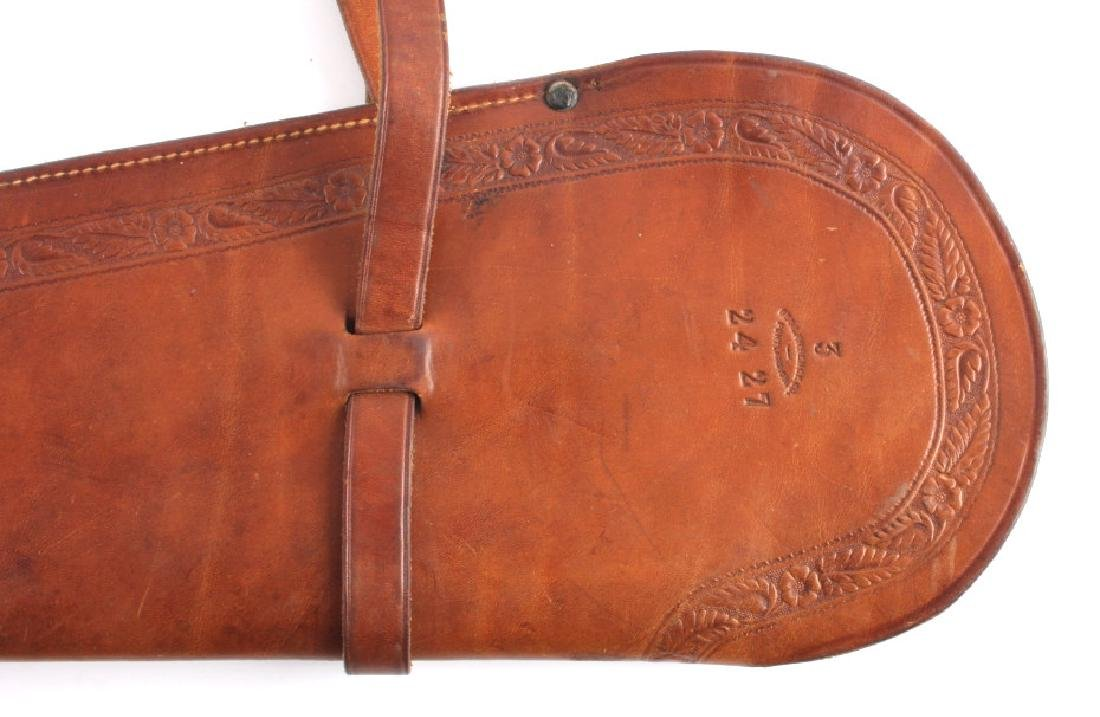 George Lawrence Tooled Leather Rifle Scabbard - 3