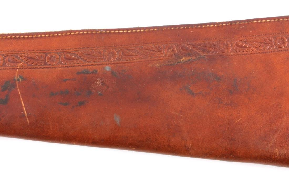 George Lawrence Tooled Leather Rifle Scabbard - 5