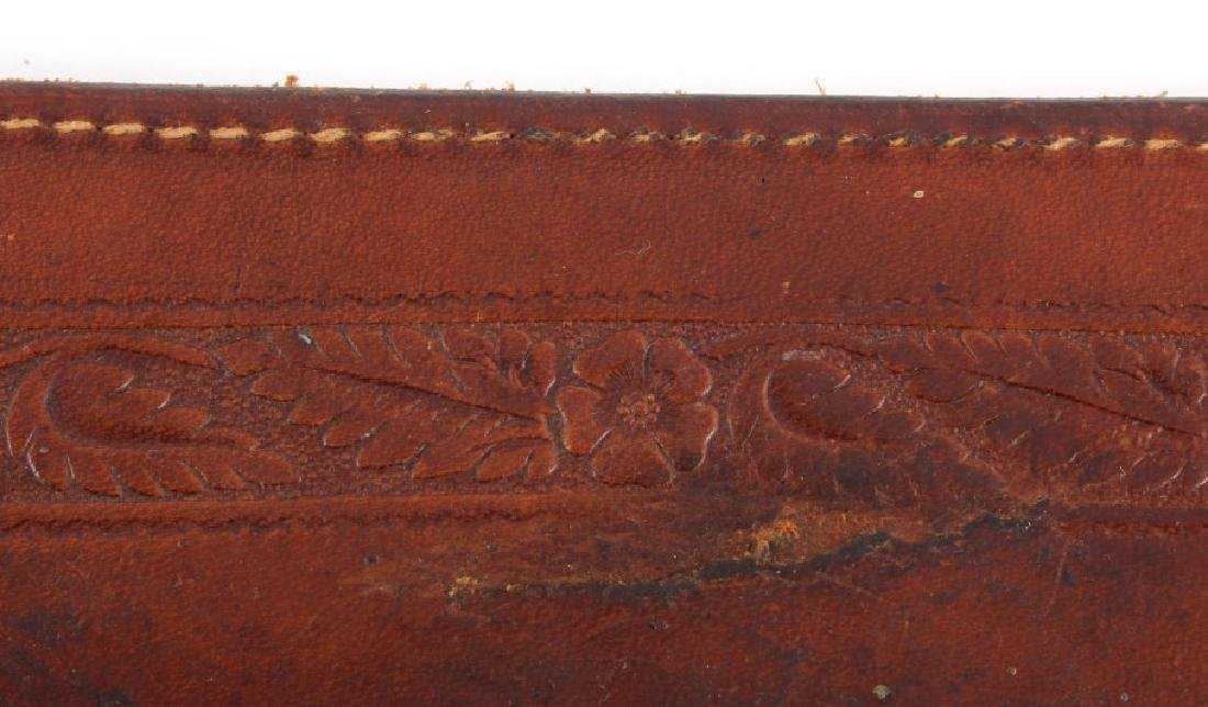 George Lawrence Tooled Leather Rifle Scabbard - 6