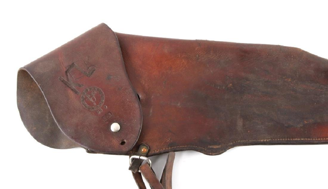 Victor Ario Leather Rifle Scabbard Great Falls MT - 2