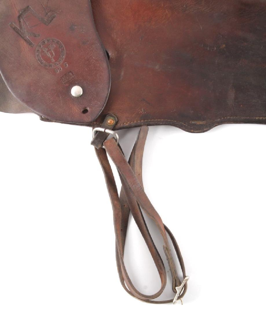 Victor Ario Leather Rifle Scabbard Great Falls MT - 3