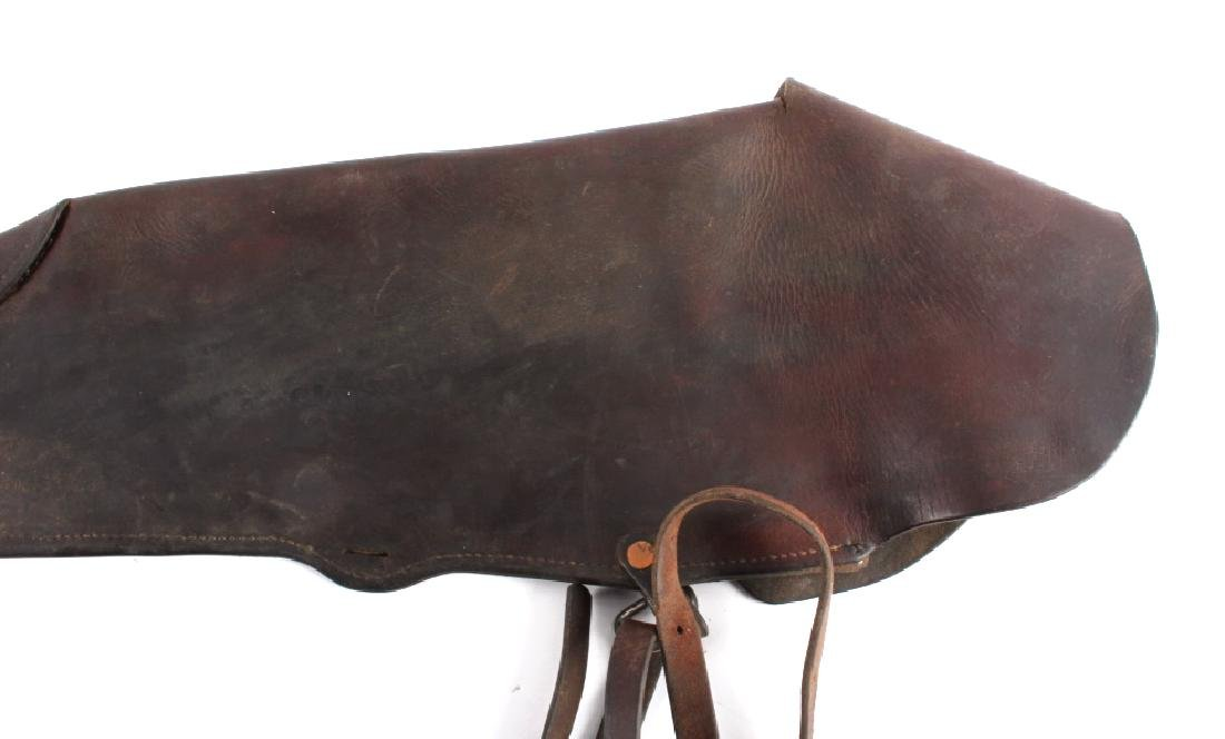 Victor Ario Leather Rifle Scabbard Great Falls MT - 8