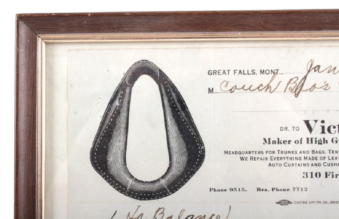 Victor Ario 1919 Sale Bill Great Falls Montana - 3