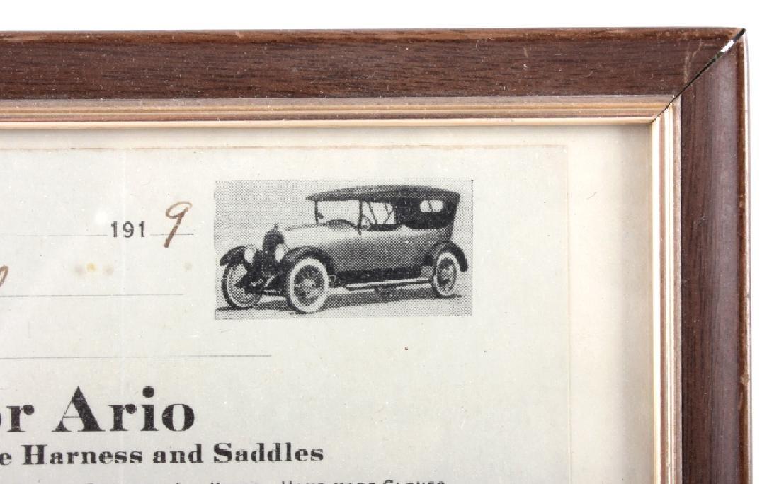 Victor Ario 1919 Sale Bill Great Falls Montana - 4