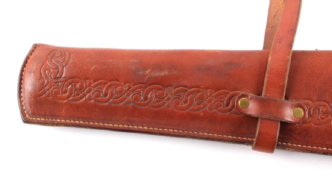 Miles City Saddlery Leather Rifle Scabbard - 10