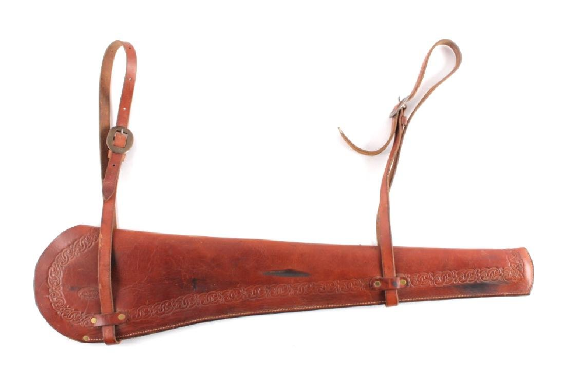 Miles City Saddlery Leather Rifle Scabbard