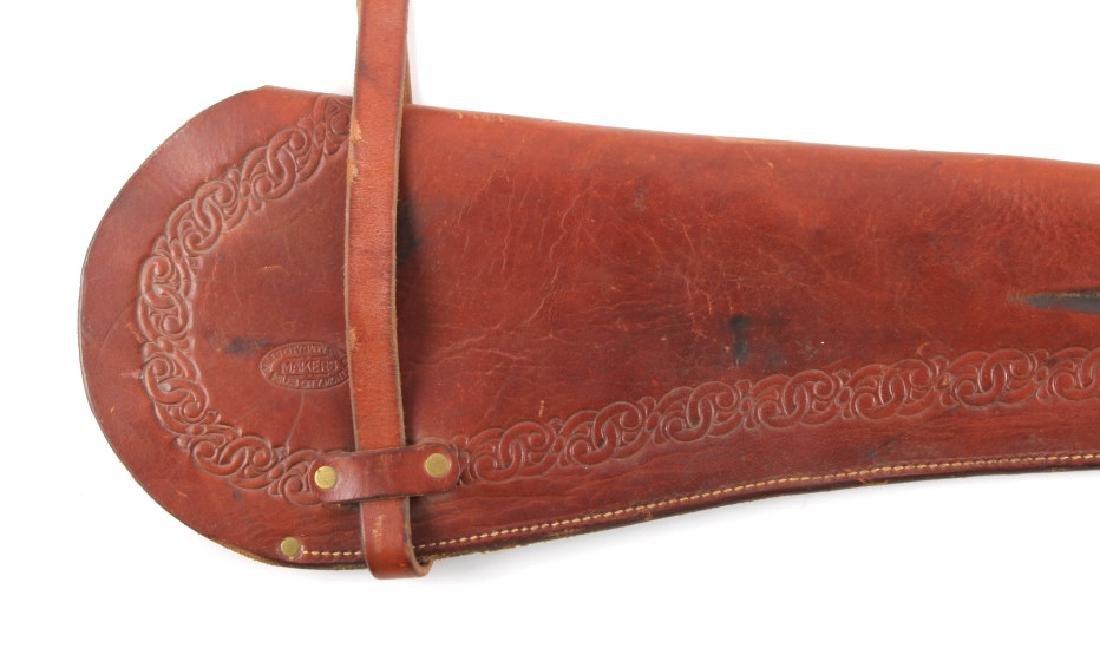 Miles City Saddlery Leather Rifle Scabbard - 2