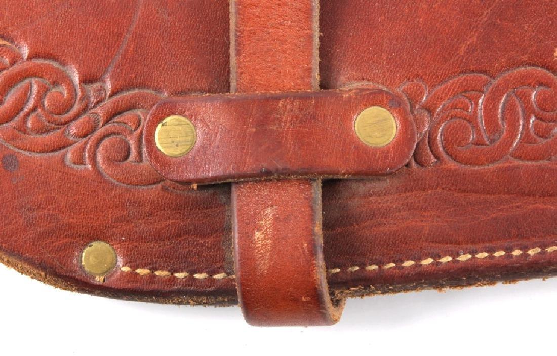 Miles City Saddlery Leather Rifle Scabbard - 4