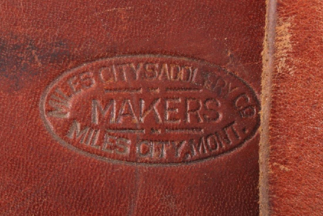 Miles City Saddlery Leather Rifle Scabbard - 5