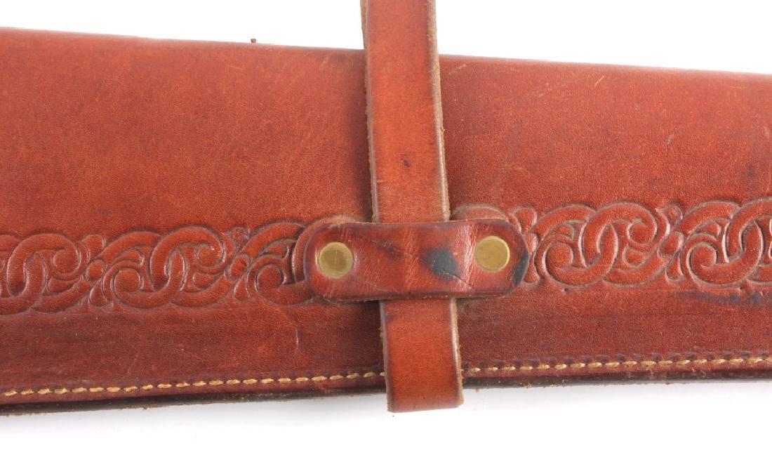 Miles City Saddlery Leather Rifle Scabbard - 8