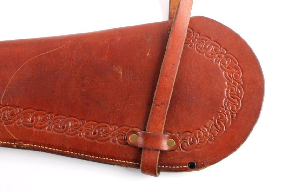 Miles City Saddlery Leather Rifle Scabbard - 9