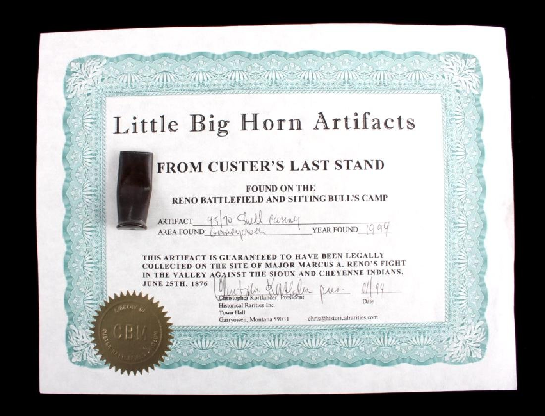Battle of the Little Bighorn Artifacts with COA - 2
