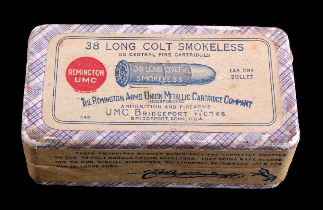 Unopened Remington UMC .38 Long Colt Ammunition - 3